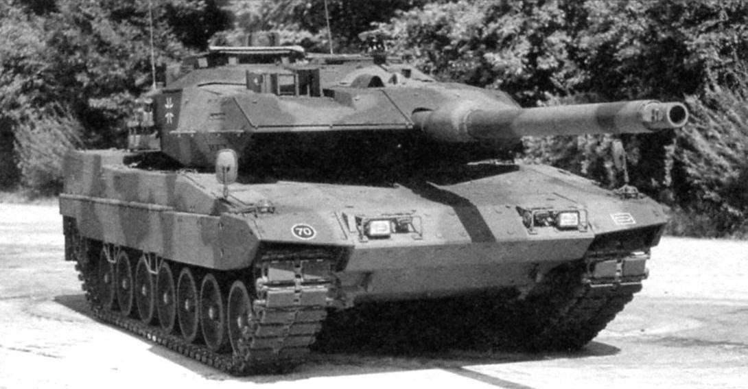 Потомки танка МВТ-70. Американский «Абрамс» и немецкий «Леопард-2»