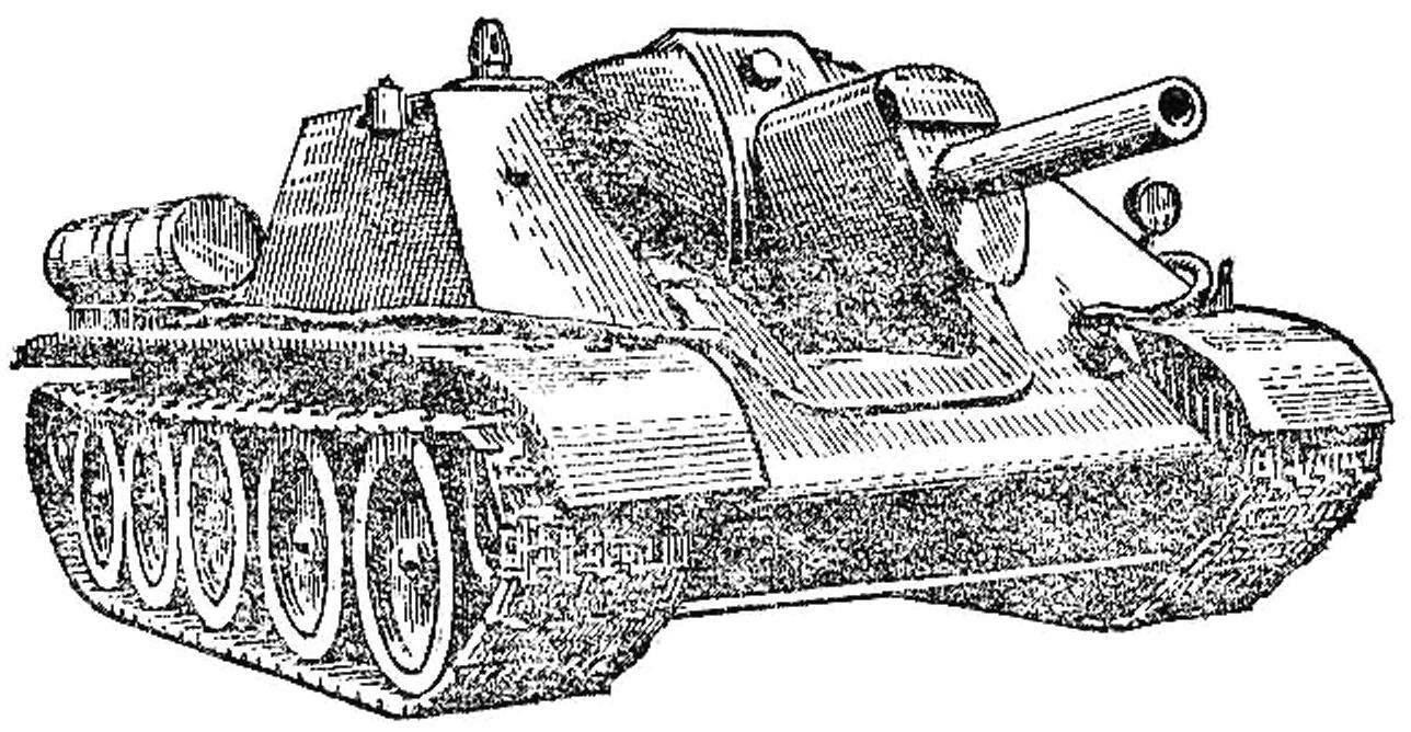 Рис. 3. СУ-122.