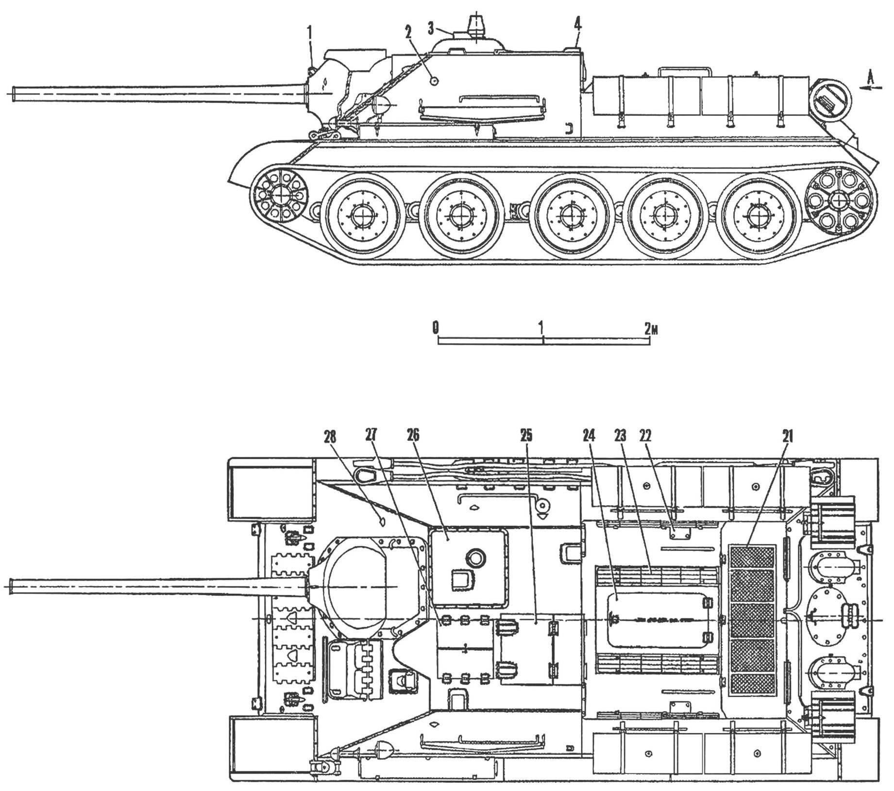 Рис. 1. СУ-85.