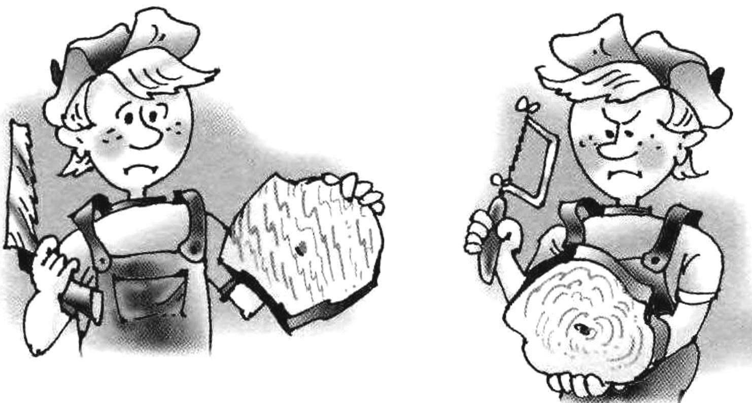 Ни ножовка, ни лобзик при круговом опиливании деревянной заготовки не обеспечивают необходимого качества кромки