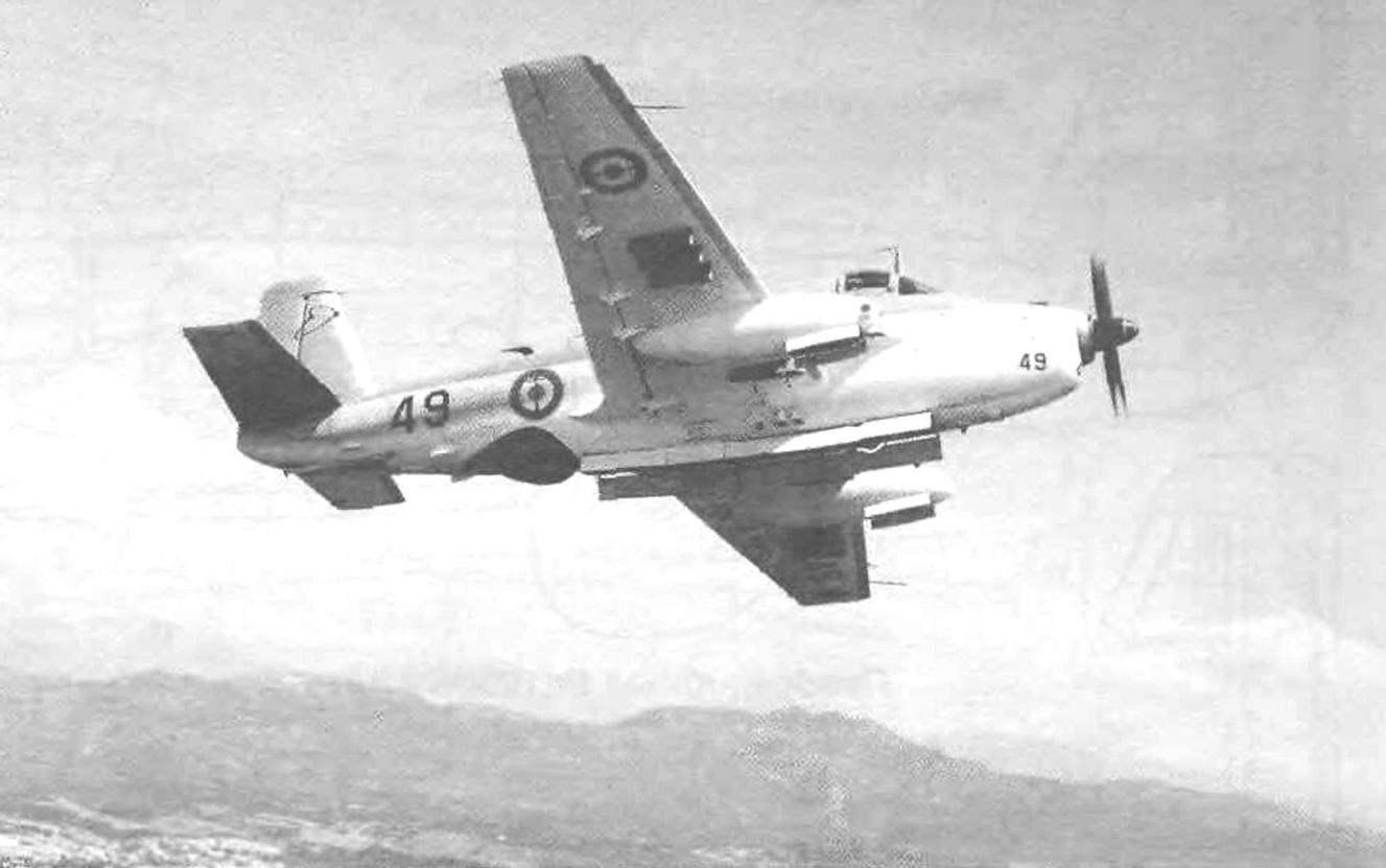 Многоцелевой палубный самолёт BREGUET Br.1050 Alize