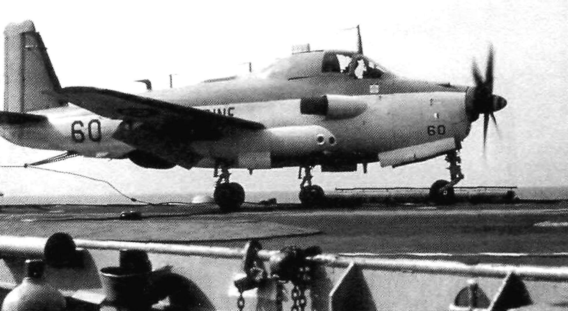 Палубный самолёт Breguet Br.1050 Alize