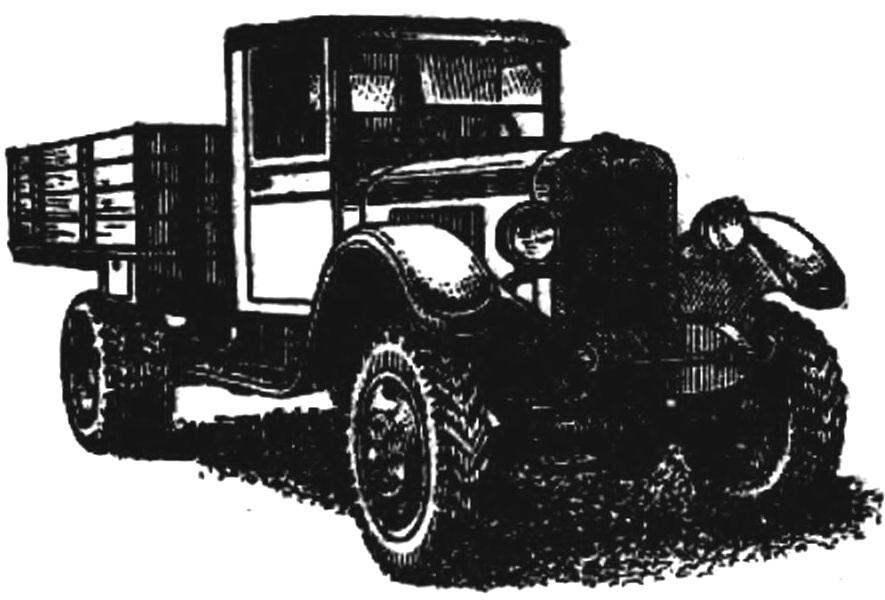 Грузовик-вездеход ЗИС-32 (СССР, 1941 г.).