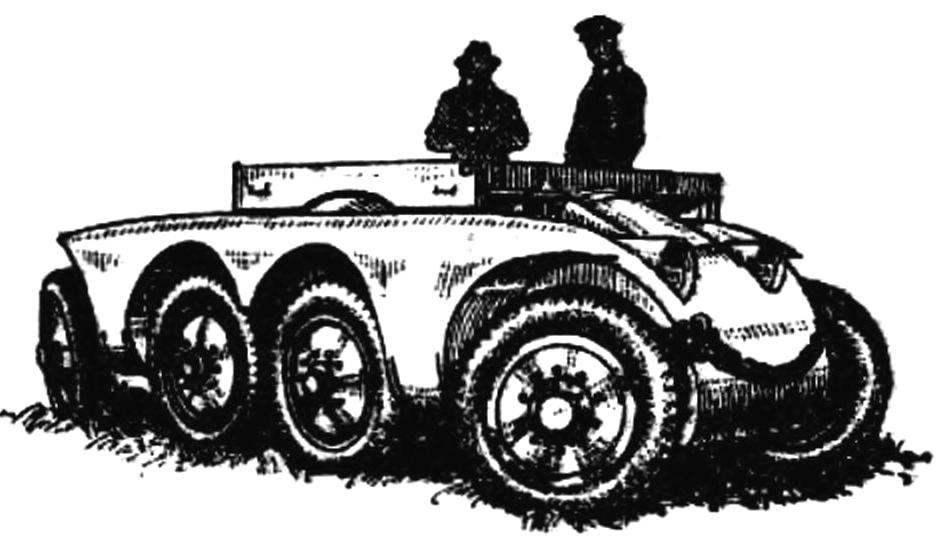 Опытное шасси для бронеавтомобиля (Германия, 1927—1930 гг.).