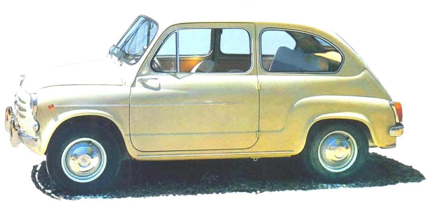 Прототип автомобиля ЗАЗ-965А FIAT-600