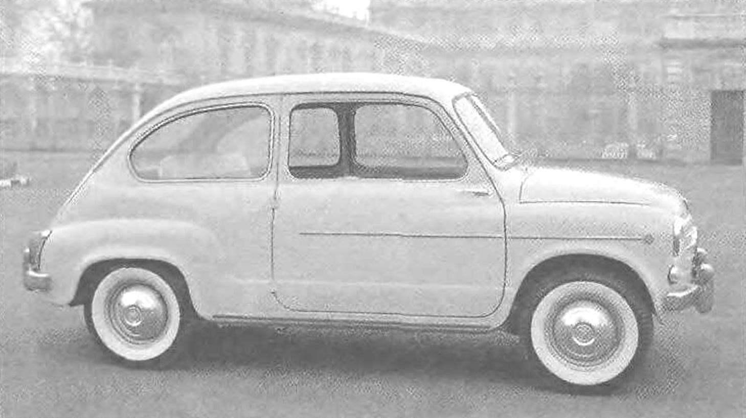 Прототипом первого отечественного автомобиля особо малого класса «Запорожец» ЗАЗ-965 был утверждён итальянский FIAT-600 выпуска 1955 года