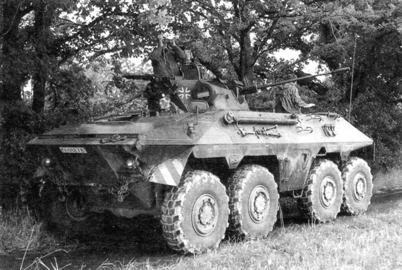 БРМ на армейском полигоне