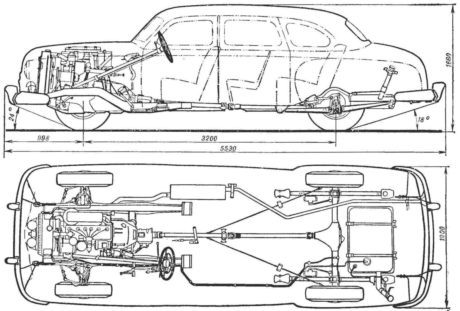Рис. 1. Автомобиль ГАЗ-12.