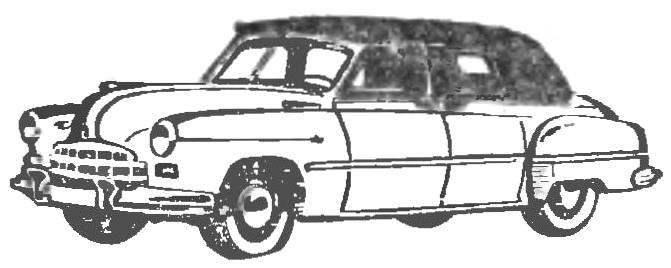 Рис. 5. Опытный образец автомобиля с открывающимся кузовом.