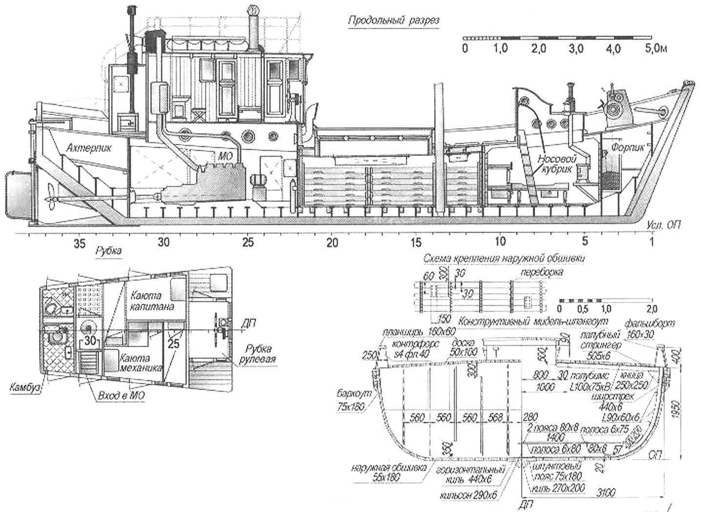 Промысловое и транспортное судно проекта 330