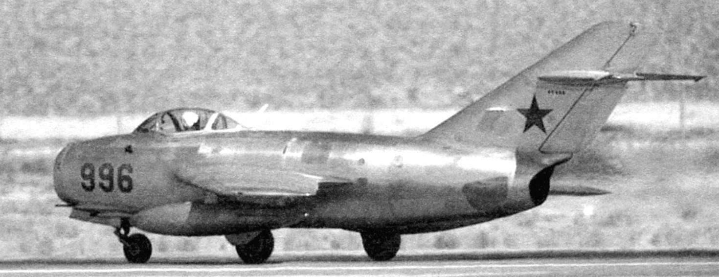 МиГ-15 - строевая машина