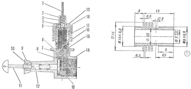 Рис. 1. Двигатель на СО2