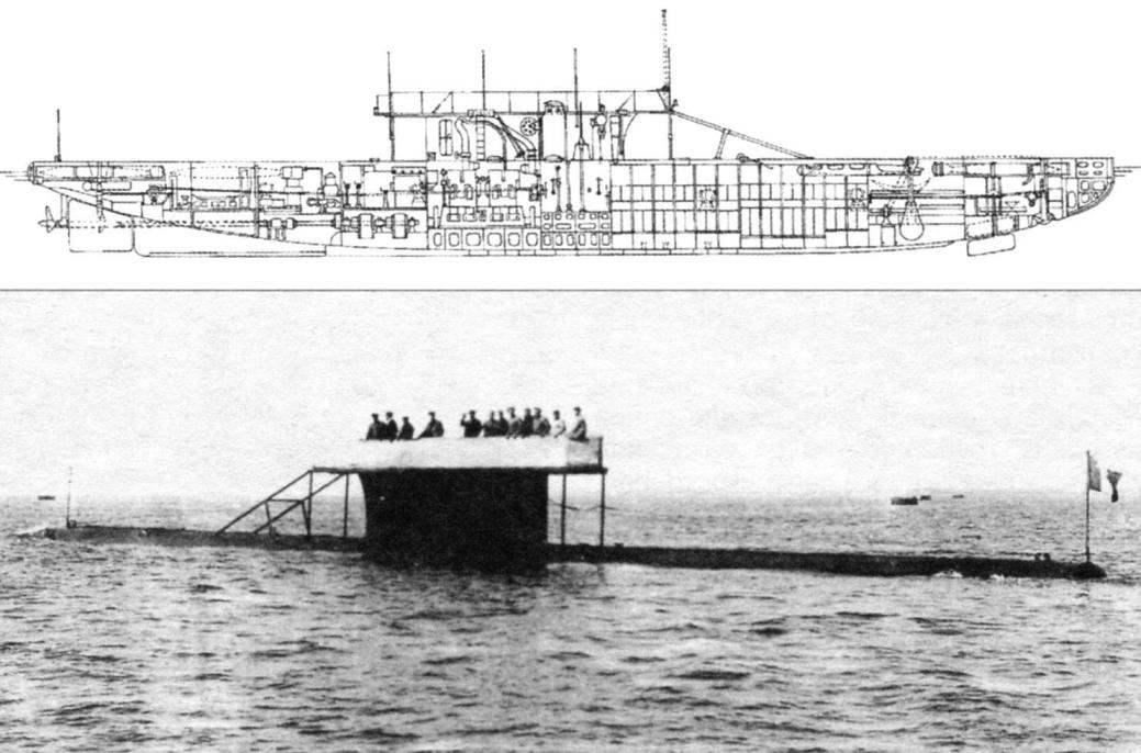 Подводная лодка «Топаз» (Q-45), Франция, 1910 г.