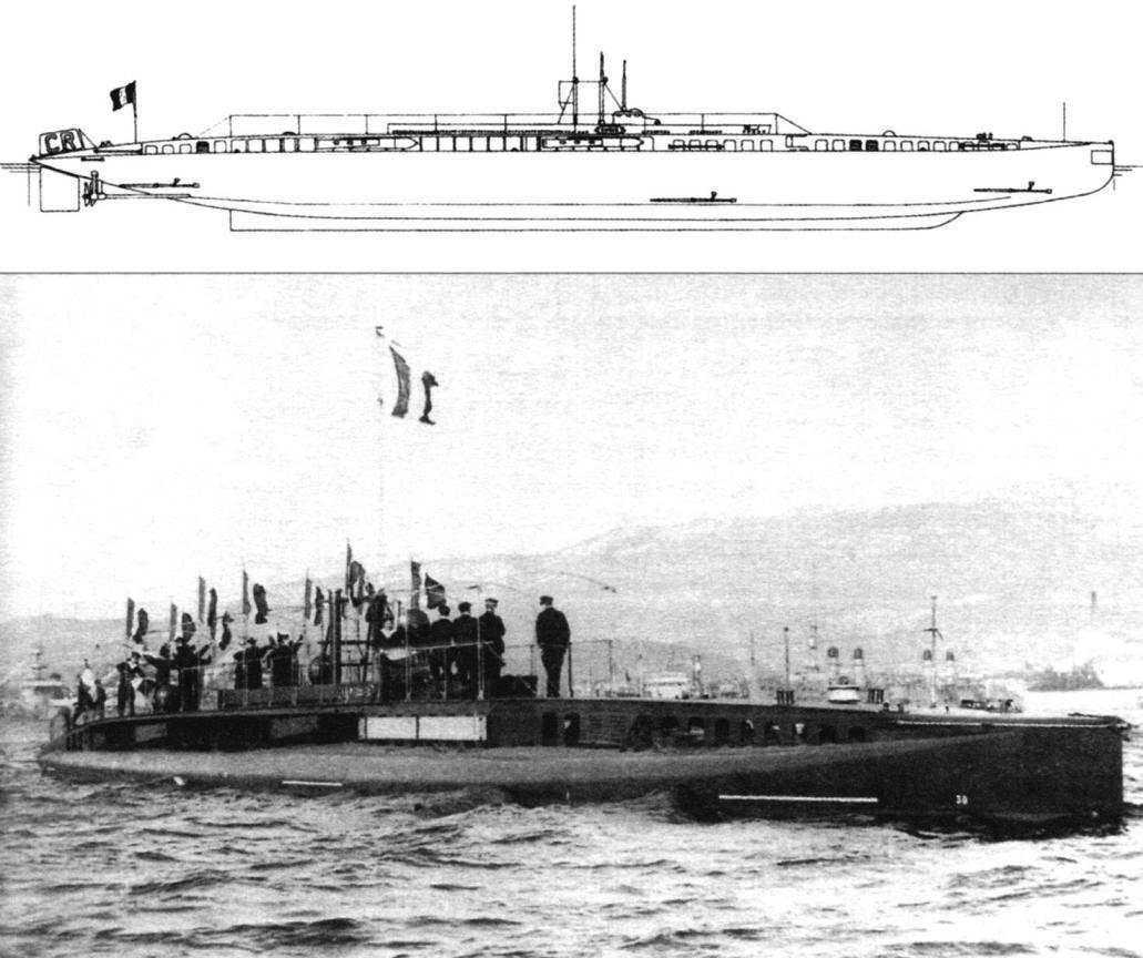 Подводная лодка «Брюмер» (Q-60), Франция, 1911 г.