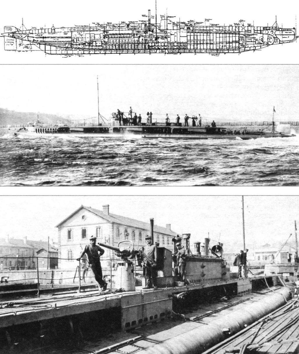 Подводная лодка «Амфитрит» (Q-94), Франция, 1916 г.