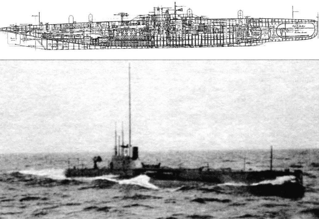 Подводная лодка «Беллона» (Q-102), Франция. 1915 г.