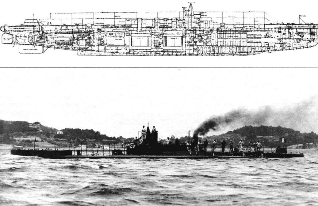 Подводная лодка «Шарль Брюн» (Q-89), Франция, 1911 г.