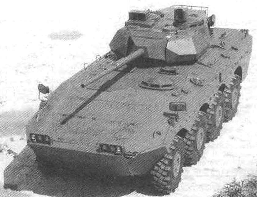 Колесная БМП «Кентавр» VВС 60/70 с башней Otobreda Т60/70A