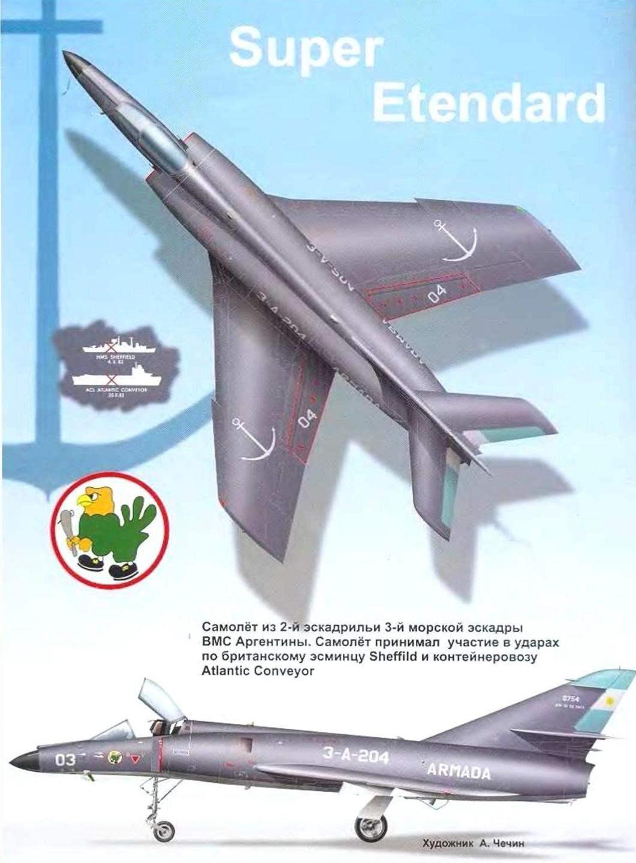 Самолет Super Etendard