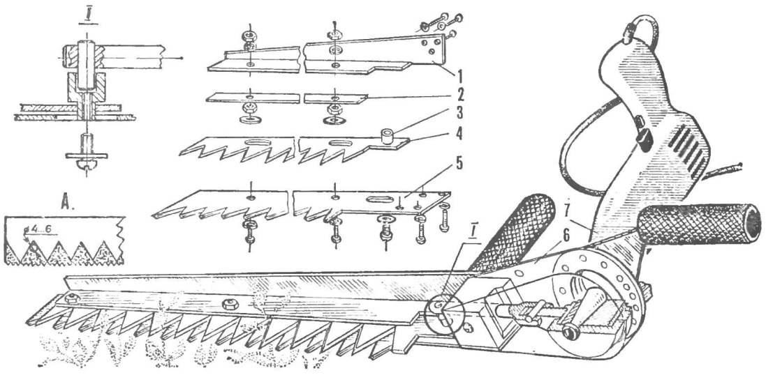 Косилка для минитрактора своими руками чертежи6