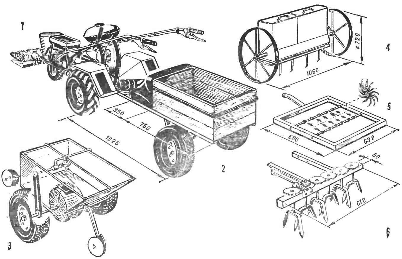 Как сделать прицеп к мотоблоку из мотоциклетной коляски