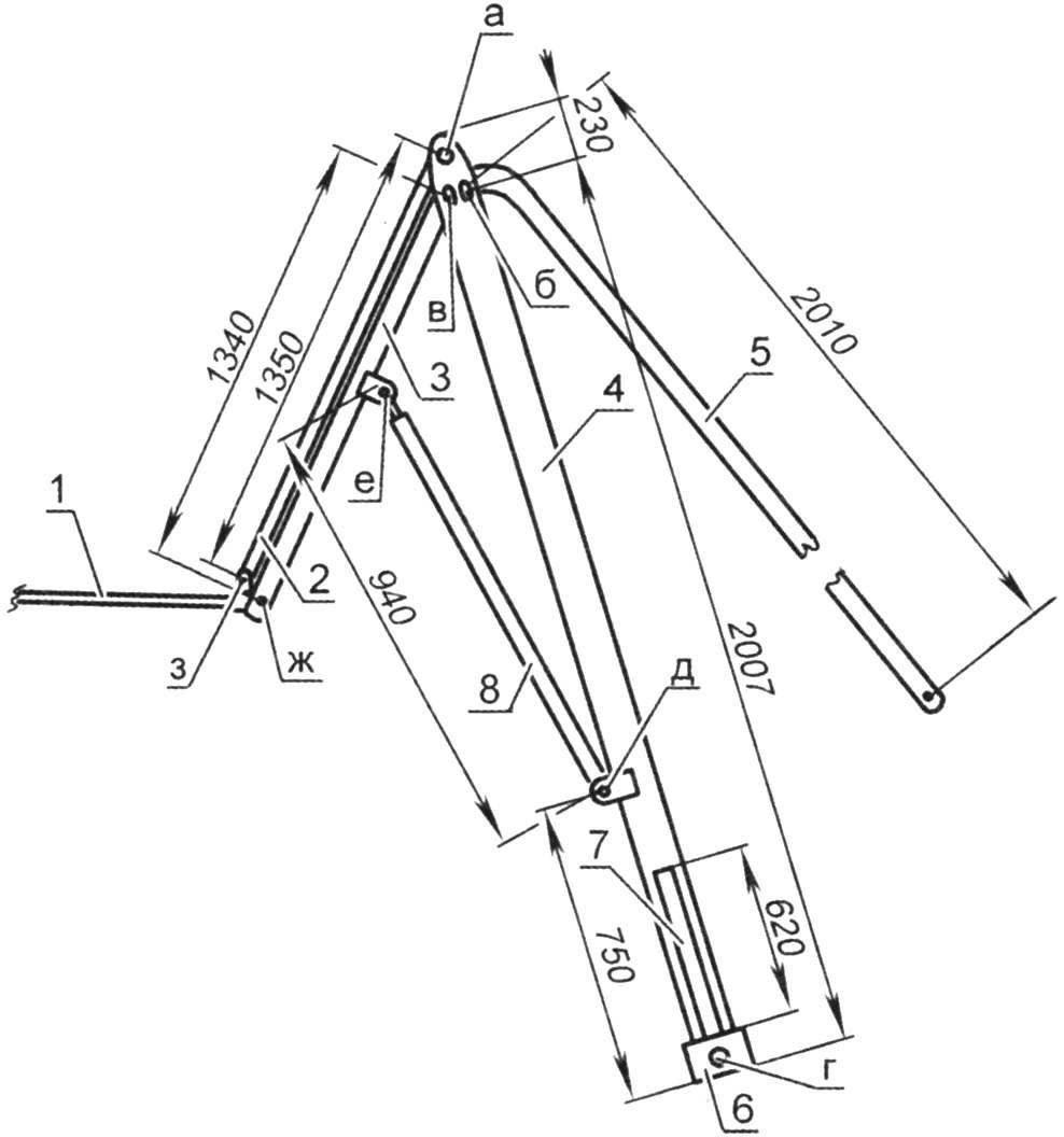 Схема подъёмника