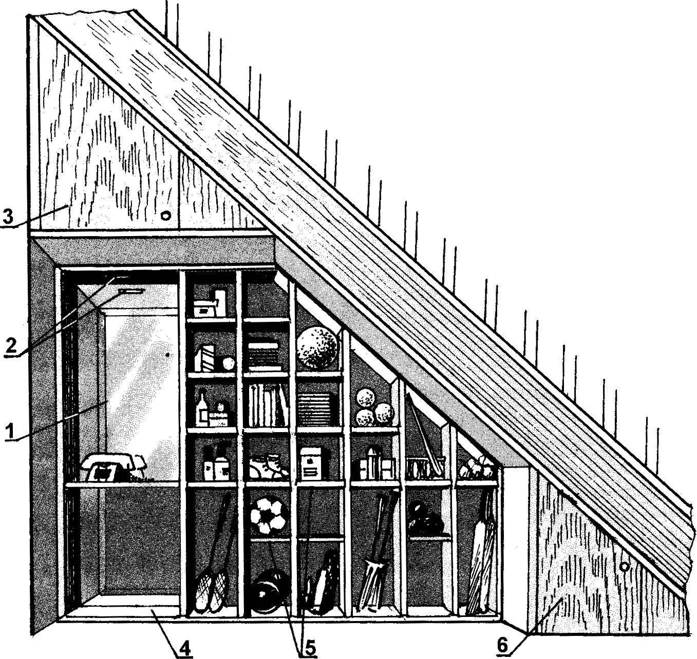 Рис. 2. Многофункциональная «этажерка»