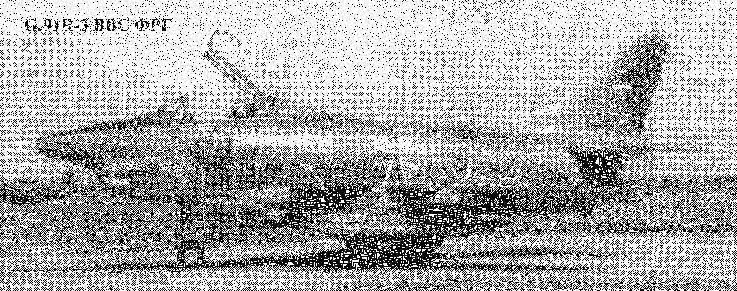G.91R-3 ВВС ФГР