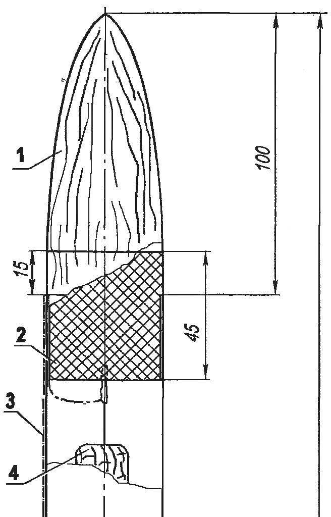Модель ракеты класса S3А