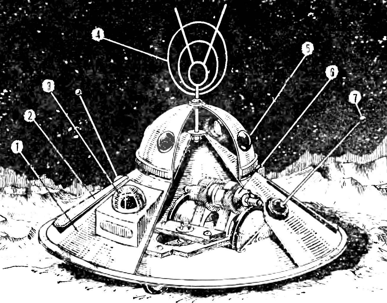 Планетоход «Венера»