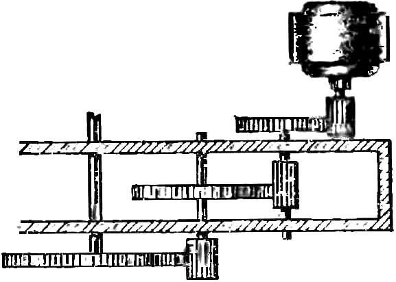Схема редуктора.