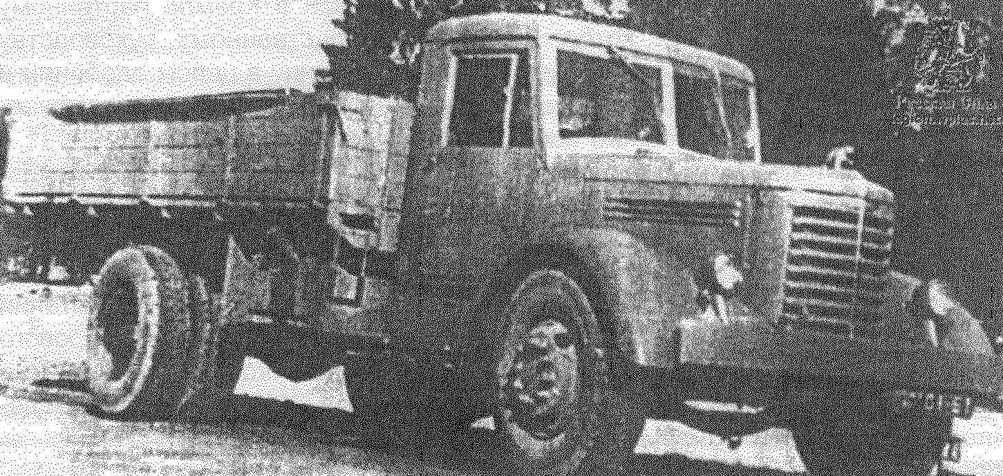 ЯАЗ-200 — семитонный дизельный грузовик выпуска 1947 года