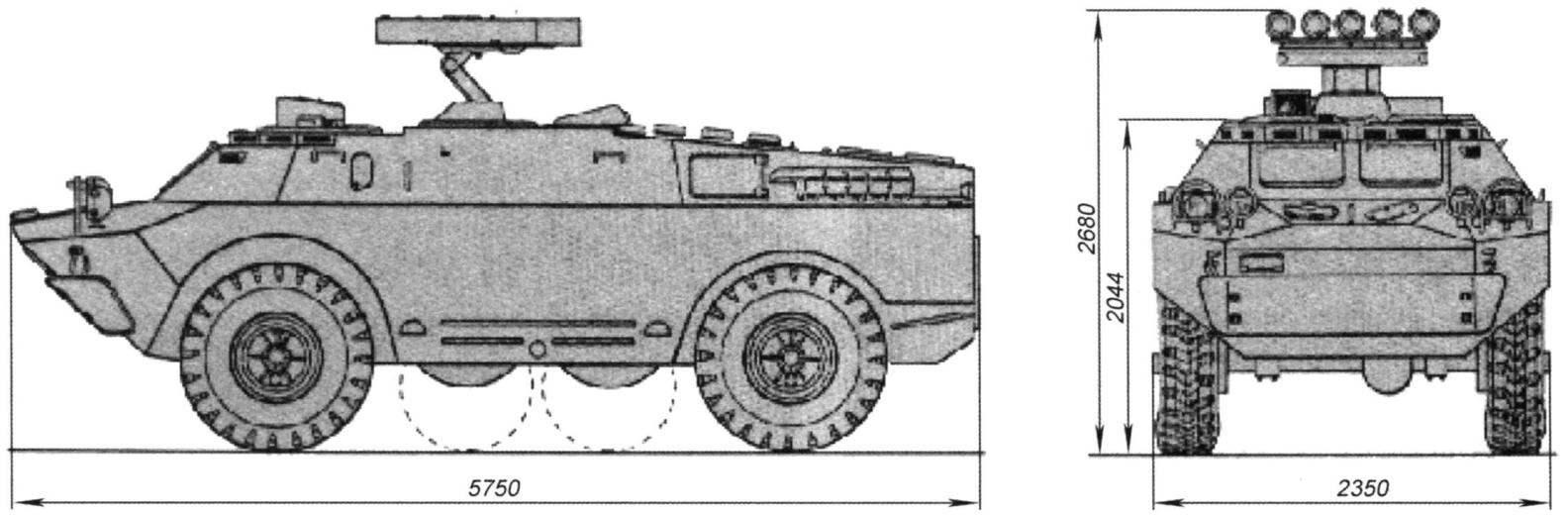 Боевая машина 9П148