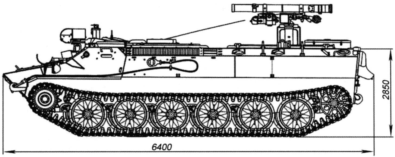 Боевая машина 9П149