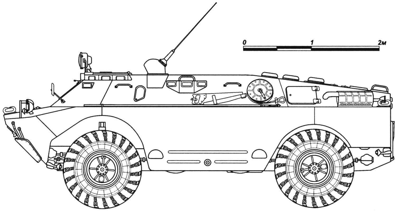 Машина управления БРДМ-2У
