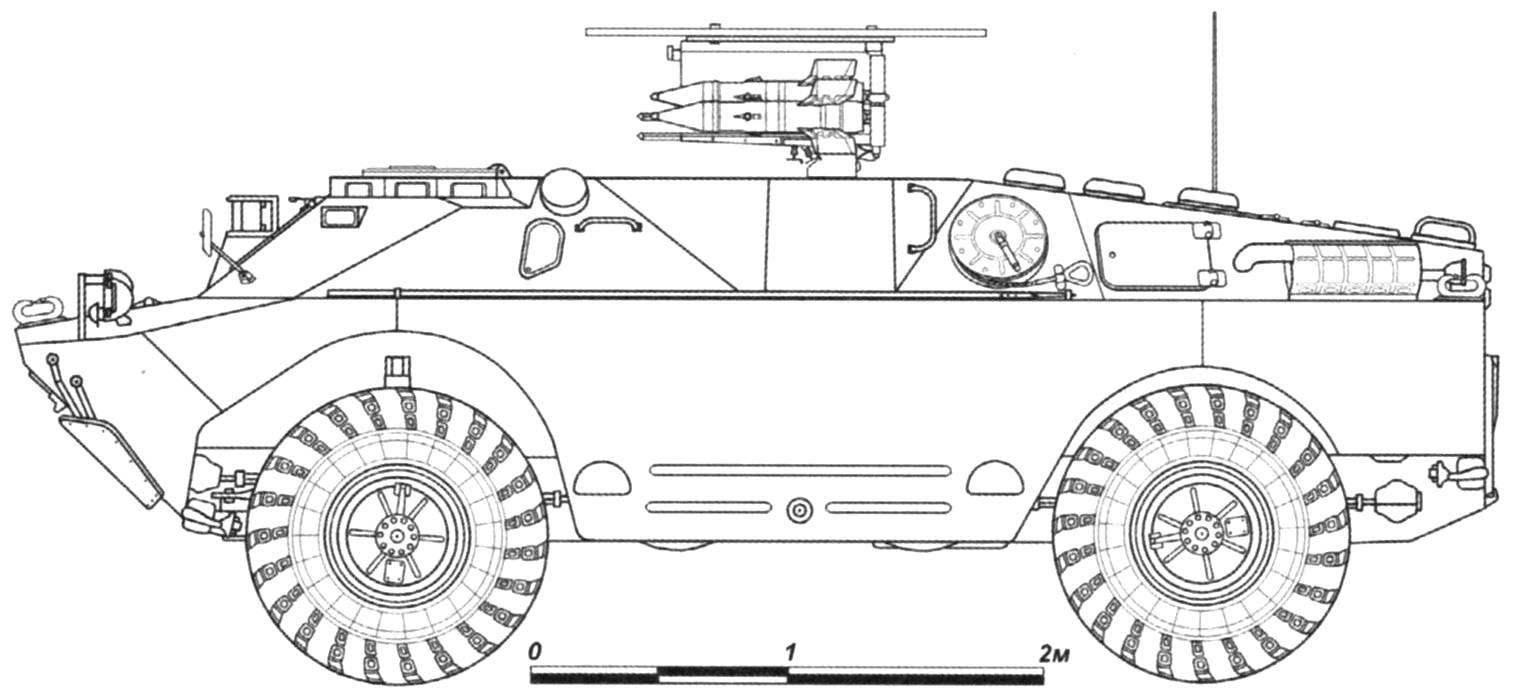 Боевая машина 9П122