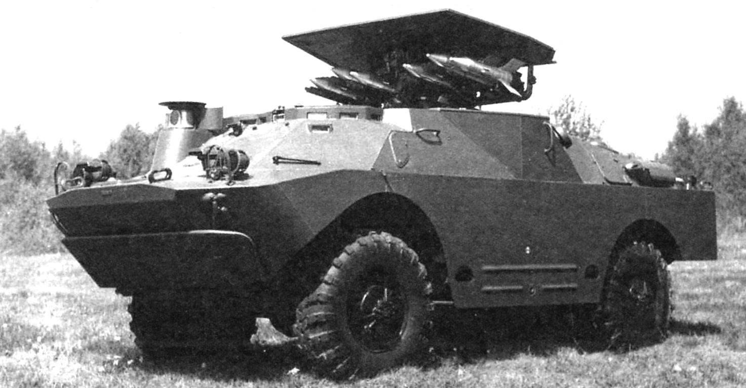 Боевая машина 9П122 противотанкового ракетного комплекса 9К11М «Малютка-М»