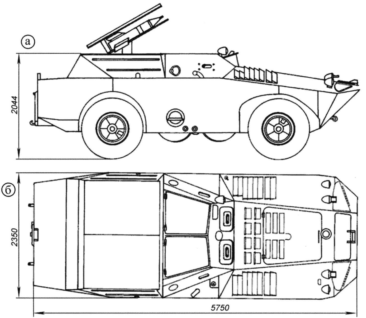 Боевая машина 9П124