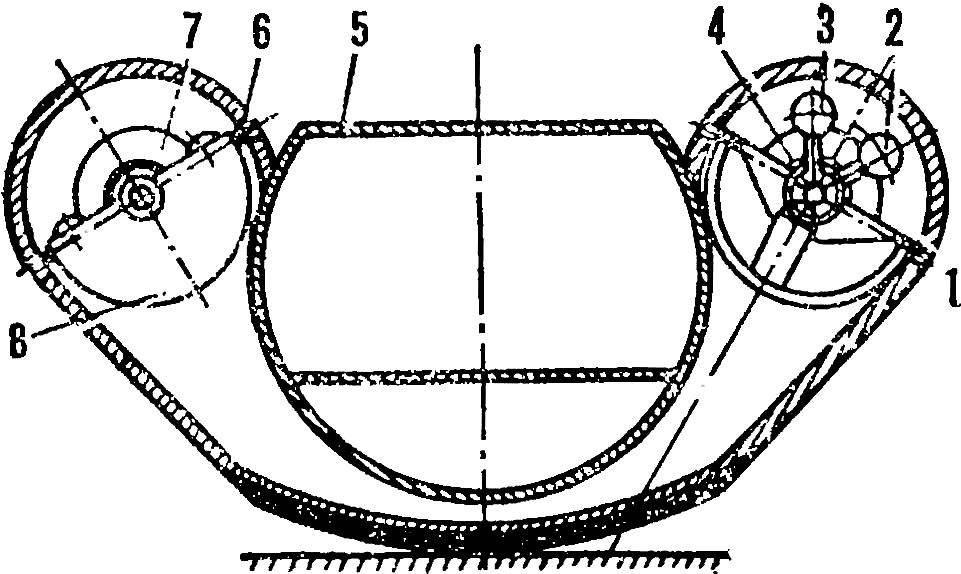 Рис. 1. Схема католета