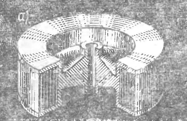 Рис. 9. Маховичный аккумулятор