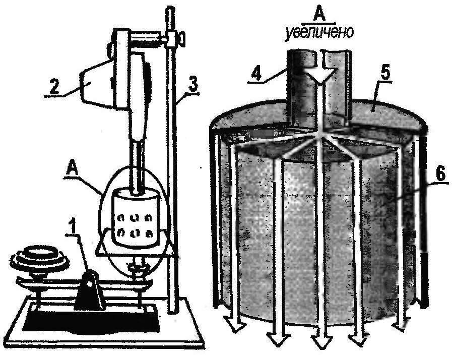 «Воздухоплавание» консервных банок—опыт подтверждающий идею К.Коккерелла