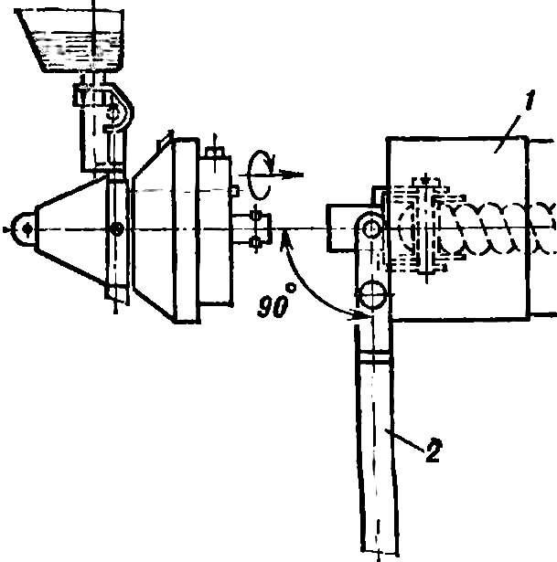 Рис. 3. Подсоединение носовой бобышки после накручивания резиномотора