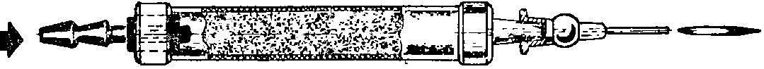 Рис. 4. Схема горелки.