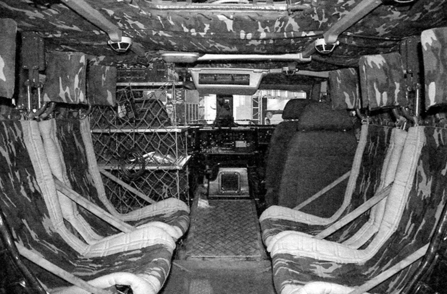 Десантное отделение бронеавтомобиля