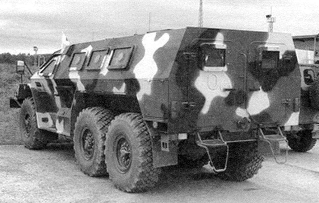 Бронеавтомобиль СБА-60-К2 «Булат», созданный на базе грузовика КАМАЗ-5350