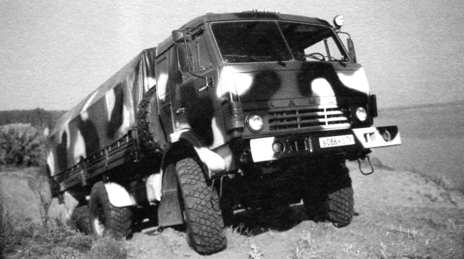 Военный грузовик КАМАЗ-5350 - базовое шасси «Булата»