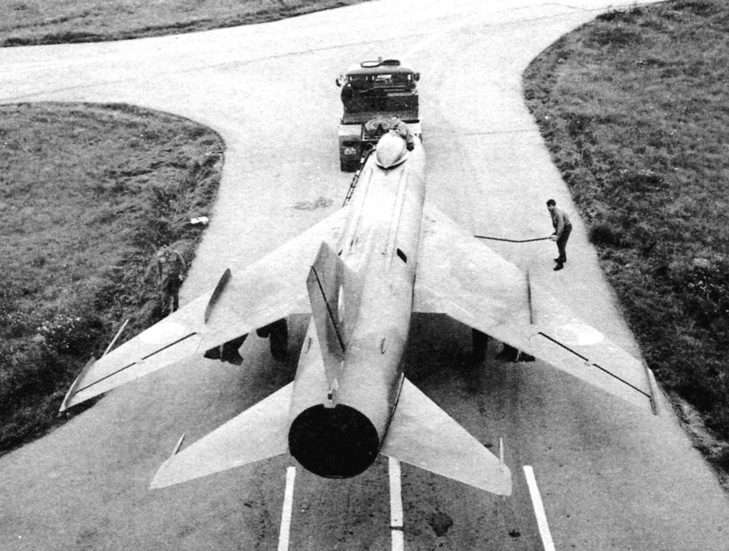 Су-7Б - дорога на старт