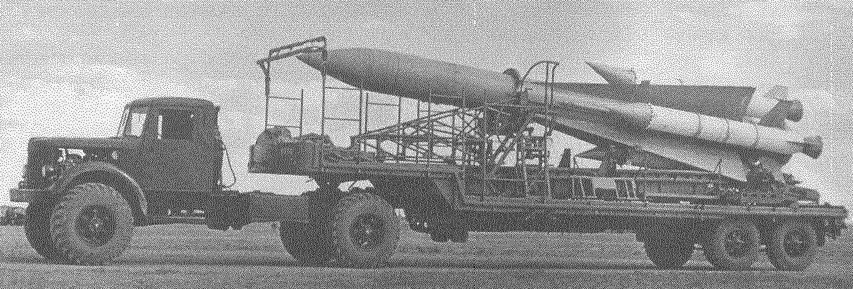 Ракета 5В27 на ТЗМ 5Т83