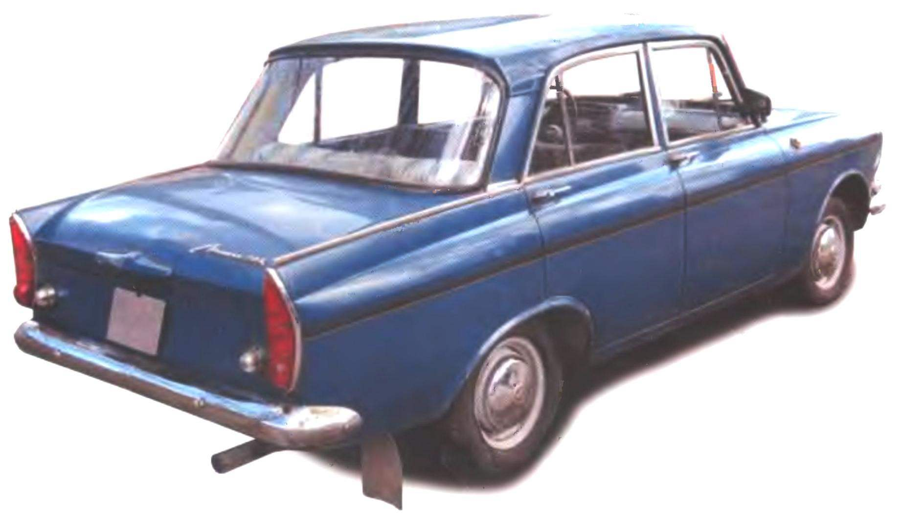 АВТОМОБИЛЬ «МОСКВИЧ-408»