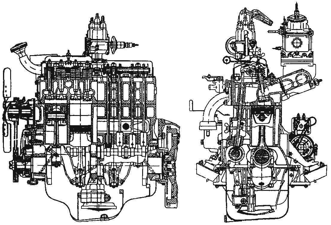 Двигатель «М-408»